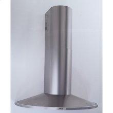 "35-7/16"" (90cm) Stainless Steel Chimney Hood, 370 CFM Internal Blower"