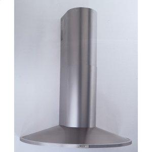 """Broan 35-7/16"""" (90cm) Stainless Steel Chimney Hood, 370 Cfm Internal Blower"""