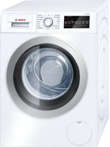 """24"""" Compact Washer, WAT28401UC, White/Silver"""