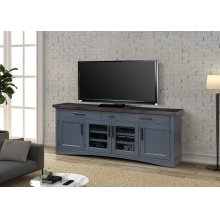 Americana Modern Denim 76 in. TV Console