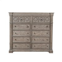 Kingsbury 10 Drawer Master Chest Product Image