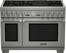 48 inch Professional Series Pro Grand Commercial Depth Dual Fuel Range PRD486NLGU
