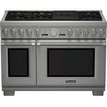 48-Inch Pro Grand Commercial Depth Dual Fuel Range PRD486NLGU
