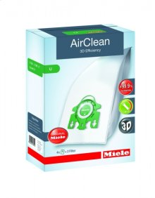 AirClean 3D Efficiency FilterBags Type U