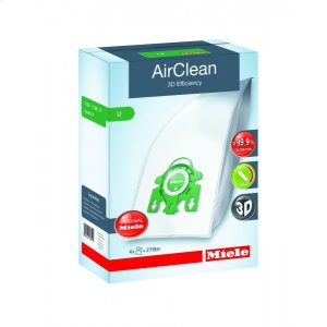 MieleAirClean 3D Efficiency FilterBags Type U