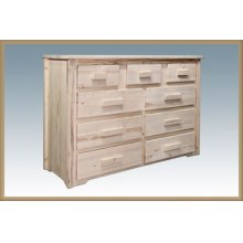 Homestead 9 Drawer Dresser