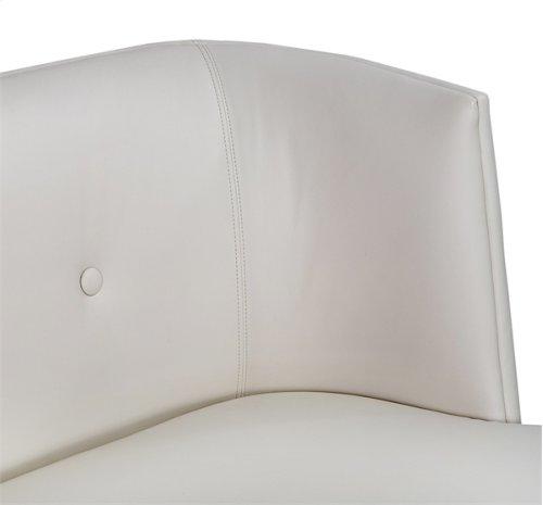 Chloe Condo Sofa - Cream Leather