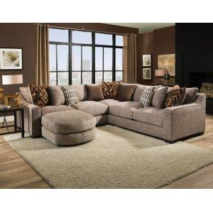 American Furniture Manufacturing1400 Homespun Stone Sectional