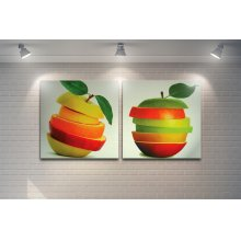 Colorfull Apples Artwork