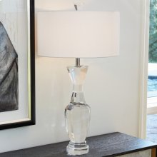 Crystal Urn Lamp-French Wired