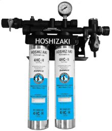 Twin Water Filter System with Manifold & Cartridge