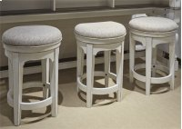 Console Swivel Stool Product Image