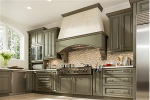 """43-7/16"""" Stainless Steel Built-In Range Hood for use with External Blower Options"""