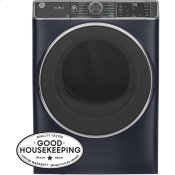 ®7.8 cu. ft. Capacity Smart Front Load Electric Dryer with Steam