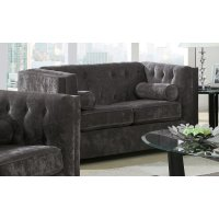 Alexis Transitional Charcoal Loveseat Product Image