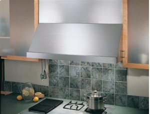 """Classico - 54"""" Stainless Steel Pro-Style Range Hood with internal/external blower options"""