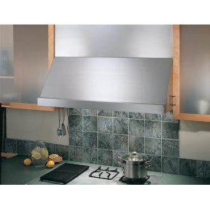 "Classico - 54"" Stainless Steel Pro-Style Range Hood with internal/external blower options"