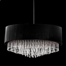 6-LIGHT PENDANT - Black