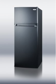10.3 CU.FT. Ada Compliant Frost-free Refrigerator-freezer In Black Finish