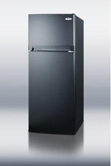 10.3 CU.FT. Ada Compliant Frost-free Refrigerator-freezer In Black Finish