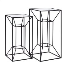 Rogers Powder Coated Tall Accent Table - Set of 2