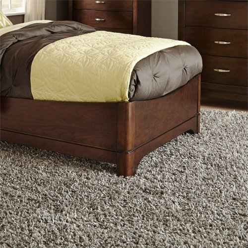 Twin Leather Bed