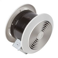"""6"""" 90 CFM Room to Room Fan, 8"""" Round Plastic Grille"""