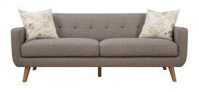 Emerald Home Remix Sofa W/2 Accent Pillows Brown U3789m-00-05