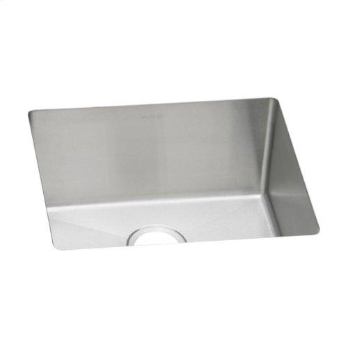 """Elkay Crosstown 16 Gauge Stainless Steel, 21-1/2"""" x 18-1/2"""" x 10"""" Single Bowl Undermount Sink"""