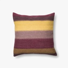 P0164 Plum / Multi Pillow