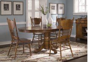 5pc Oak Dining Set