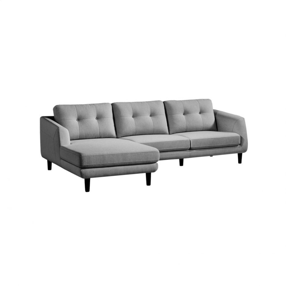 Corey Sectional Dark Grey Left