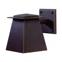 Lantern Sconce - WS465 White Bronze Brushed