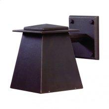 Lantern Sconce - WS465 White Bronze Medium