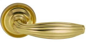 Interior Traditional Lever Latchset in (US3 Polished Brass, Lacquered)