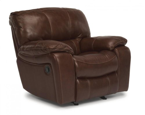 Grandview Leather Gliding Recliner