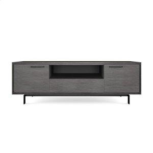 Bdi FurnitureTall Triple Width Cabinet 8329 in Graphite