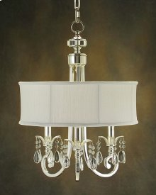 Lombard Three-Light Chandelier