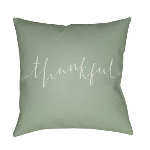 "Thankful THANK-004 18"" x 18"""