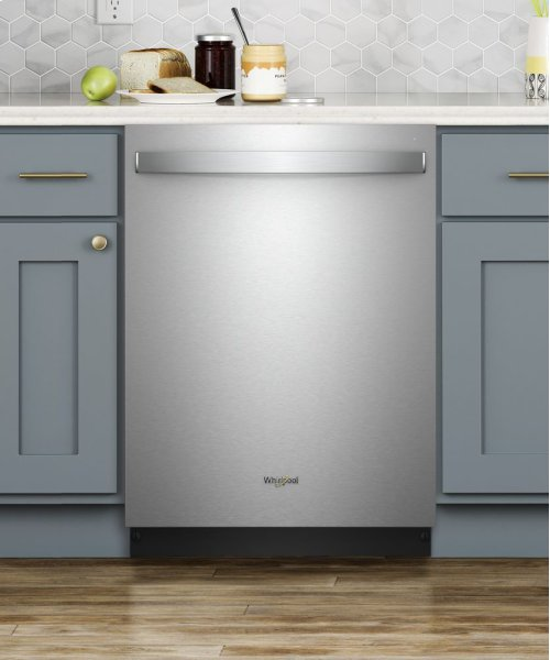 Stainless Steel Tub Dishwasher with Third Level Rack