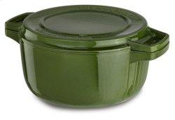 KitchenAid Professional Cast Iron 6-Quart Casserole - Ivy Green