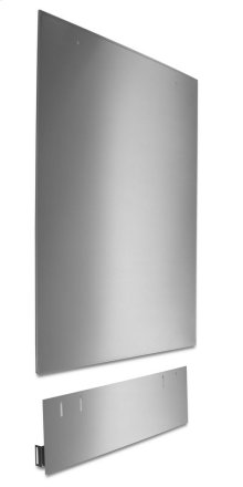 Dishwasher Side Panel Kit - Stainless Steel