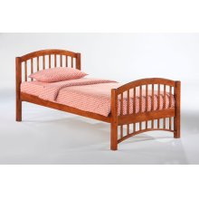 Molasses Bed in Cherry Finish
