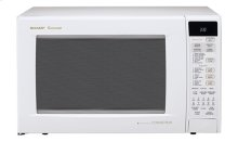 Sharp Carousel Countertop Convection   Microwave Oven 1.5 cu. ft. 900W White