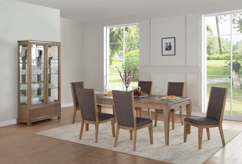 Emerald Home Vista Dining Table Weathered Gray D242-10