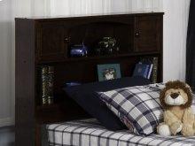 Newport Bookcase Headboard Twin Walnut