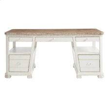 Juniper Dell Writing Desk in 17th Century White