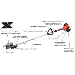 ECHO X-Series 25.4 cc professional-grade two-stroke Edger