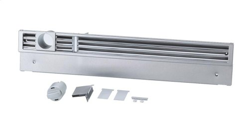 KG1480SS Lower plinth vent grill for high-end panelling of MasterCool plinths.