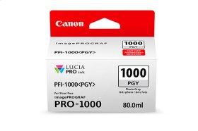 Canon PFI-1000 Photo Gray Ink Tank Photo Gray Individual Ink Tank